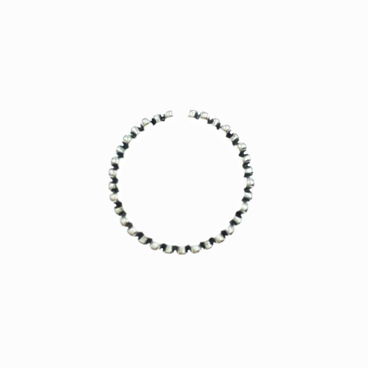 韓國 925純銀 金屬條 簡約款 可調式 戒指