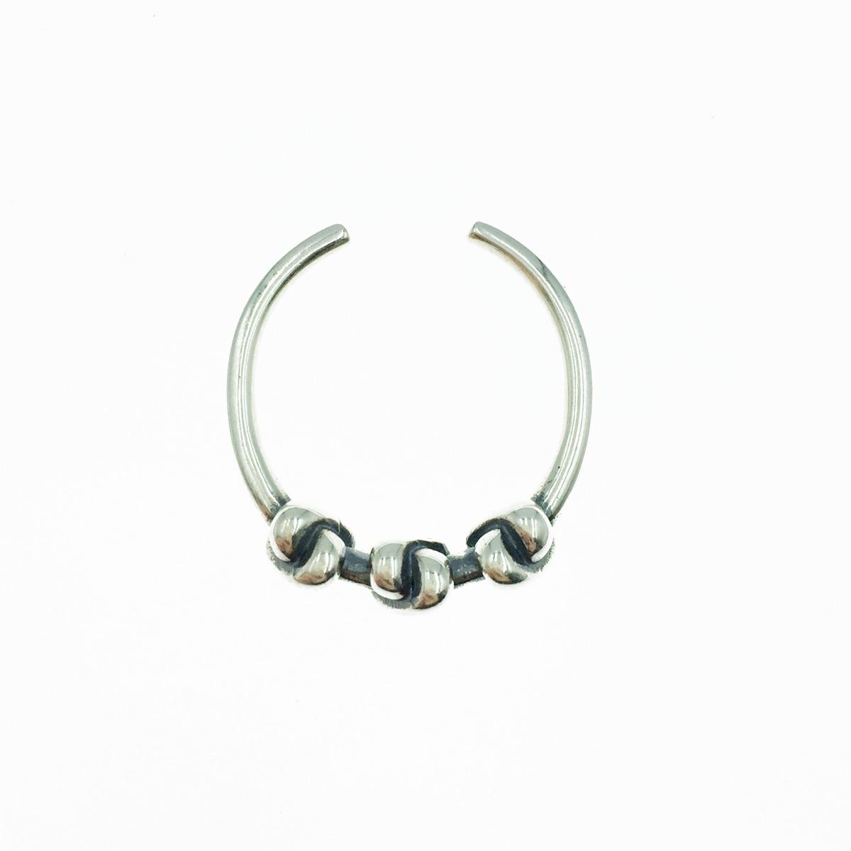 韓國 925純銀 交錯重疊 X 簡約金屬風 可調式 戒指