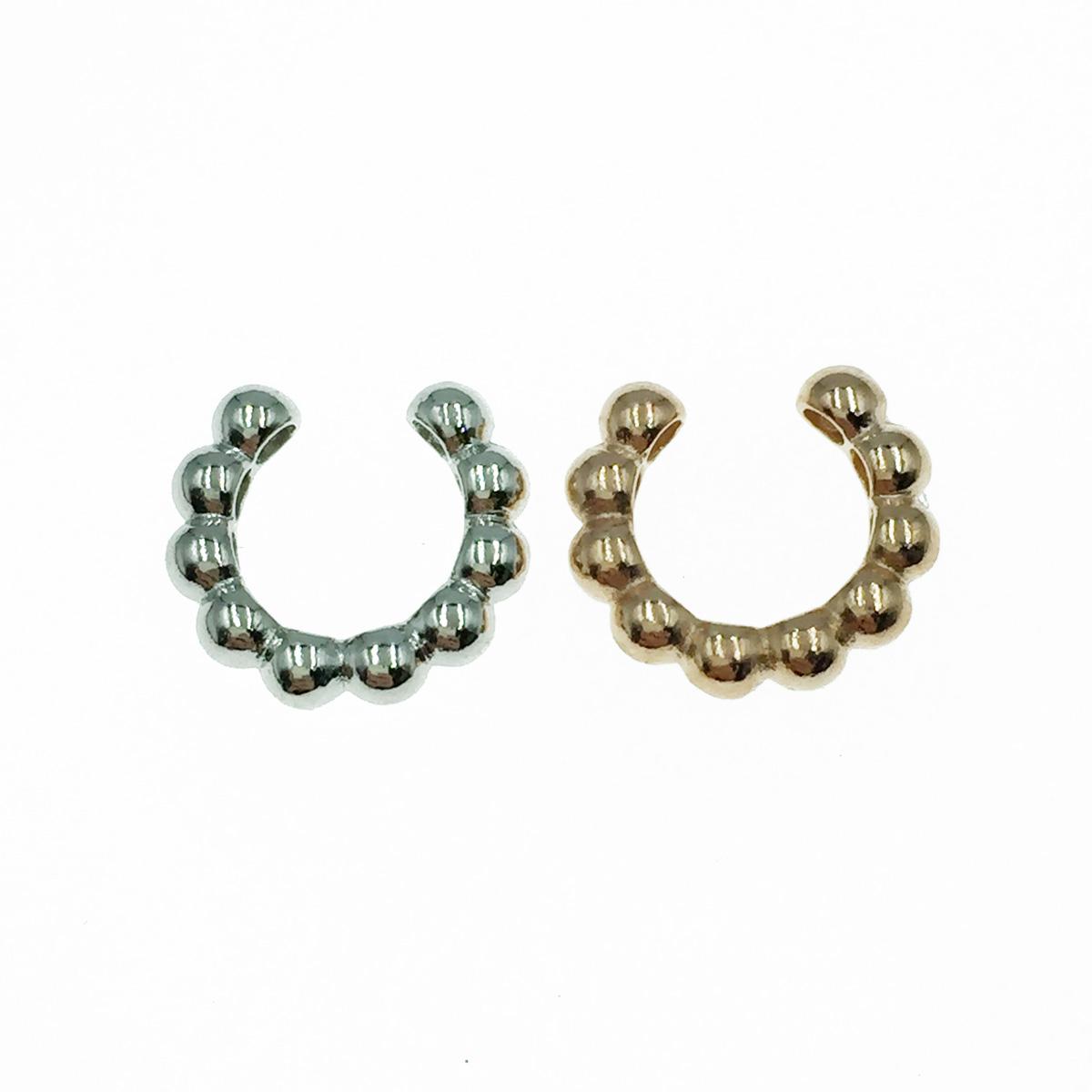韓國 925純銀銀 小珠珠 簡約款 歐美風 2色 耳骨夾