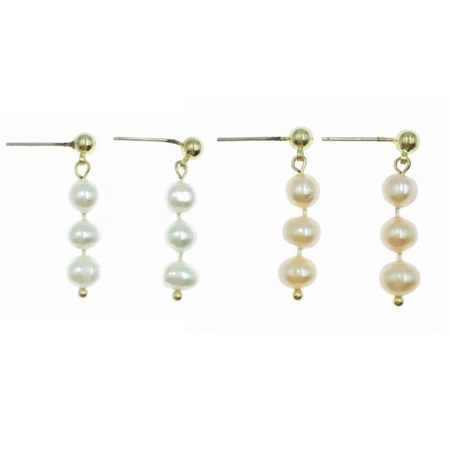韓國 925純銀 珍珠 2色 氣質高雅 垂墜感 耳針式耳環