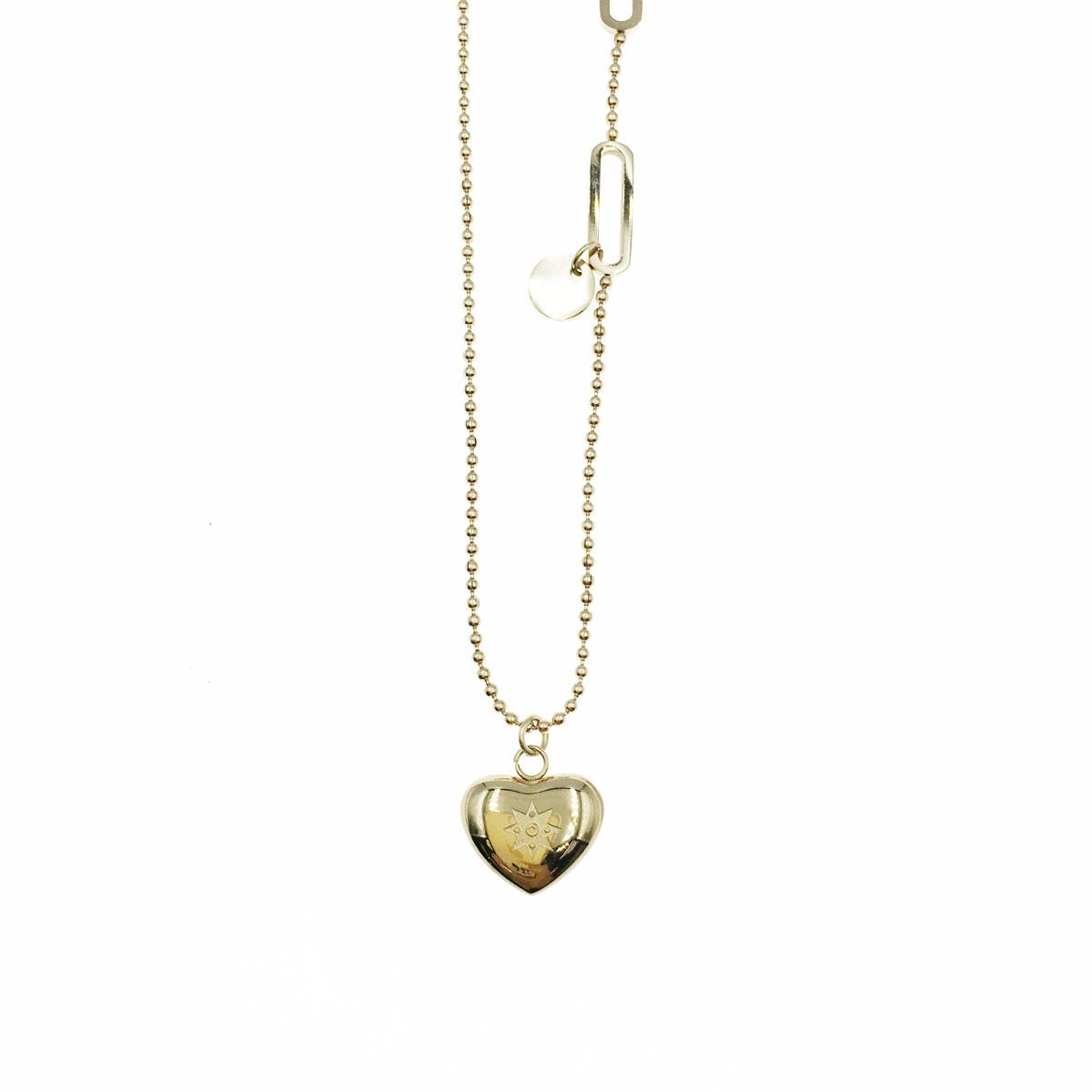 韓國 不銹鋼 愛心 星星 金屬感 鎖骨鍊 短鍊 項鍊 飾品