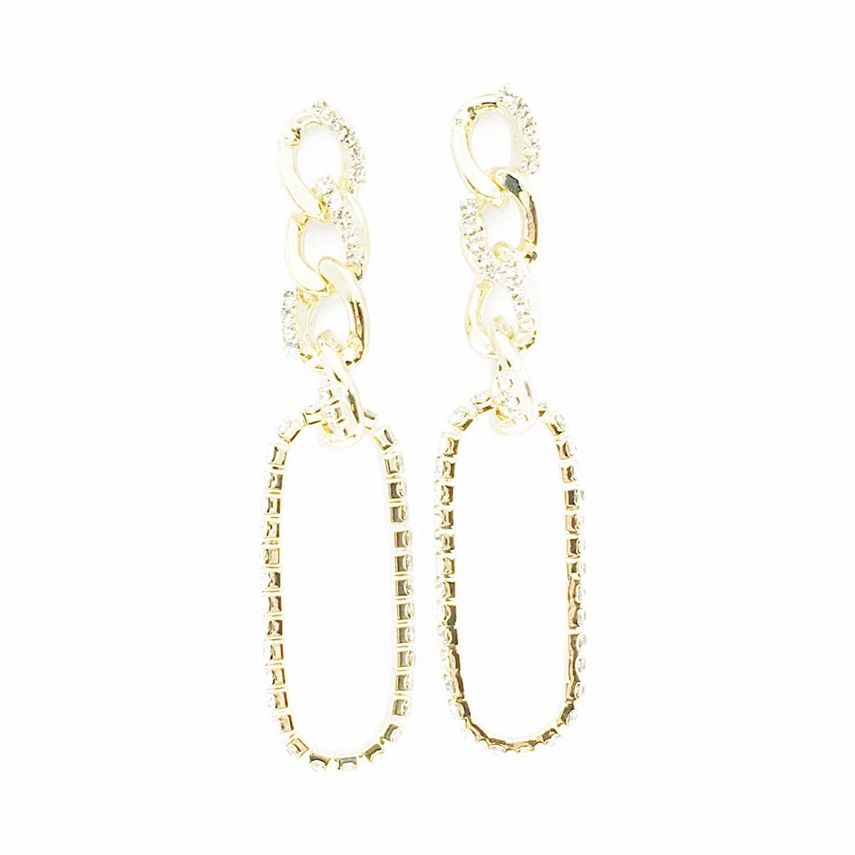 韓國 925純銀 水鑽 鍊子 簍空 垂墜感 耳針式 耳環