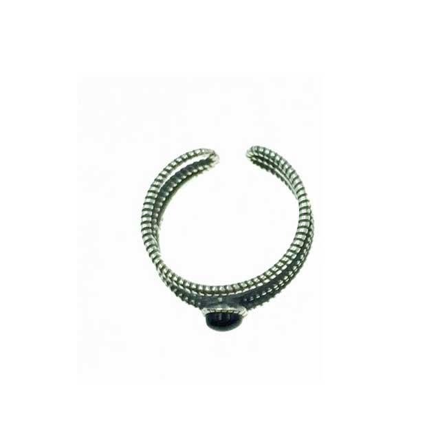 韓國 925純銀 歐美金屬風 簍空 可調式 戒指
