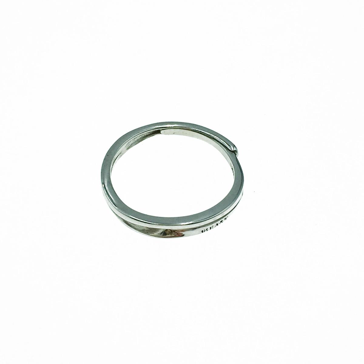 韓國 925純銀 雙圈 簡約款 可調式 戒指