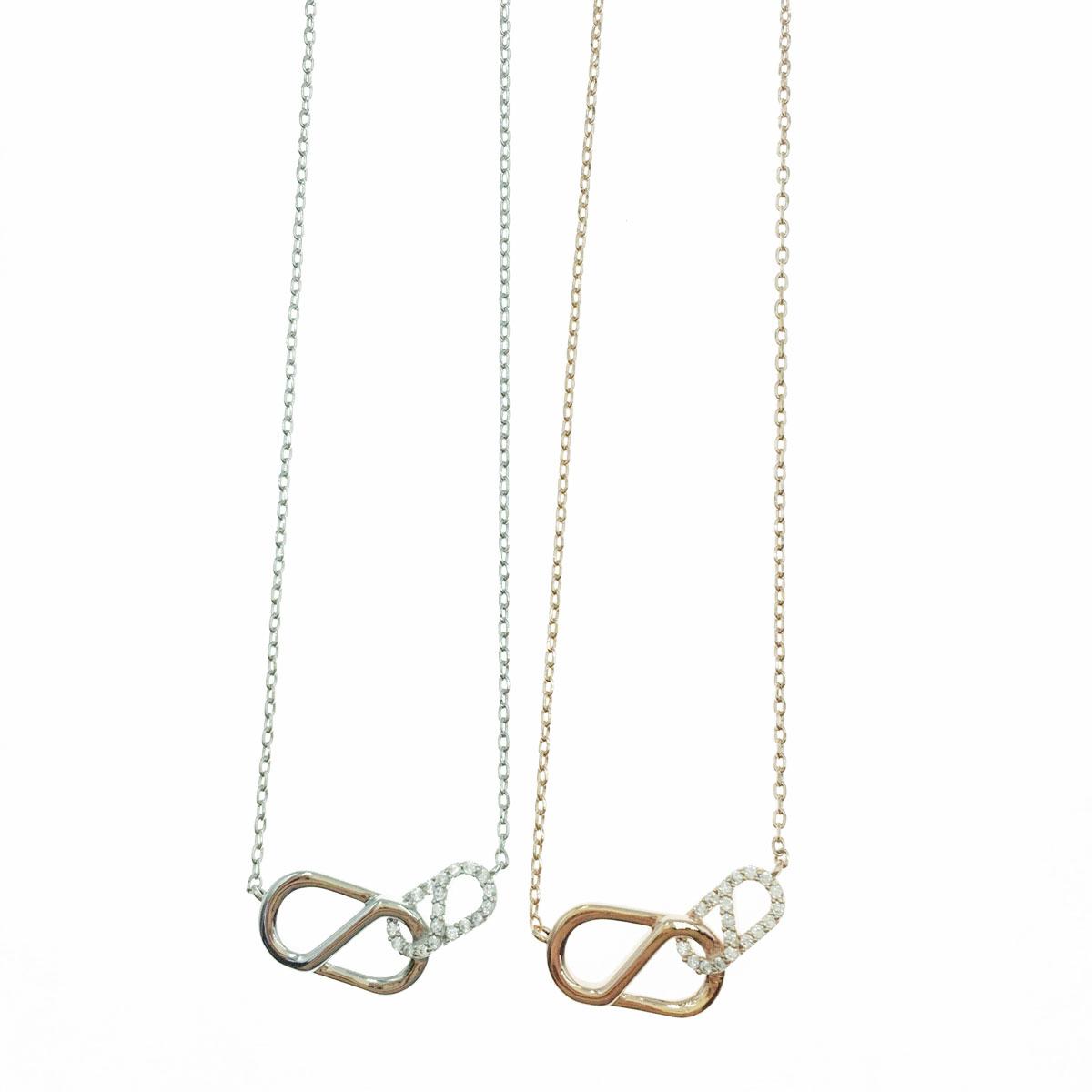 韓國 水鑽 造型 銀 玫瑰金 明星款飾品 短鍊 項鍊