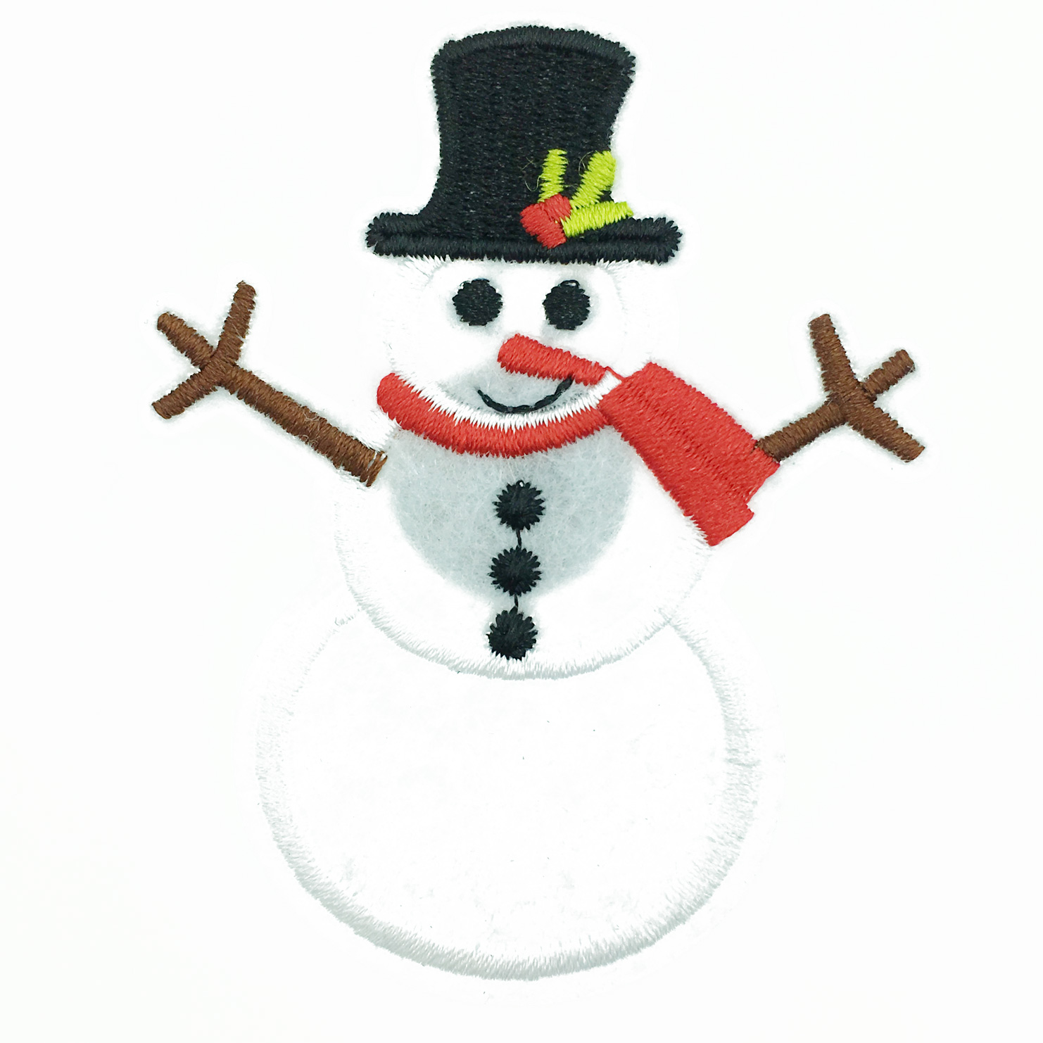 韓國 可愛雪人 刺繡 帽子 圍巾 聖誕節飾品 胸針 別針
