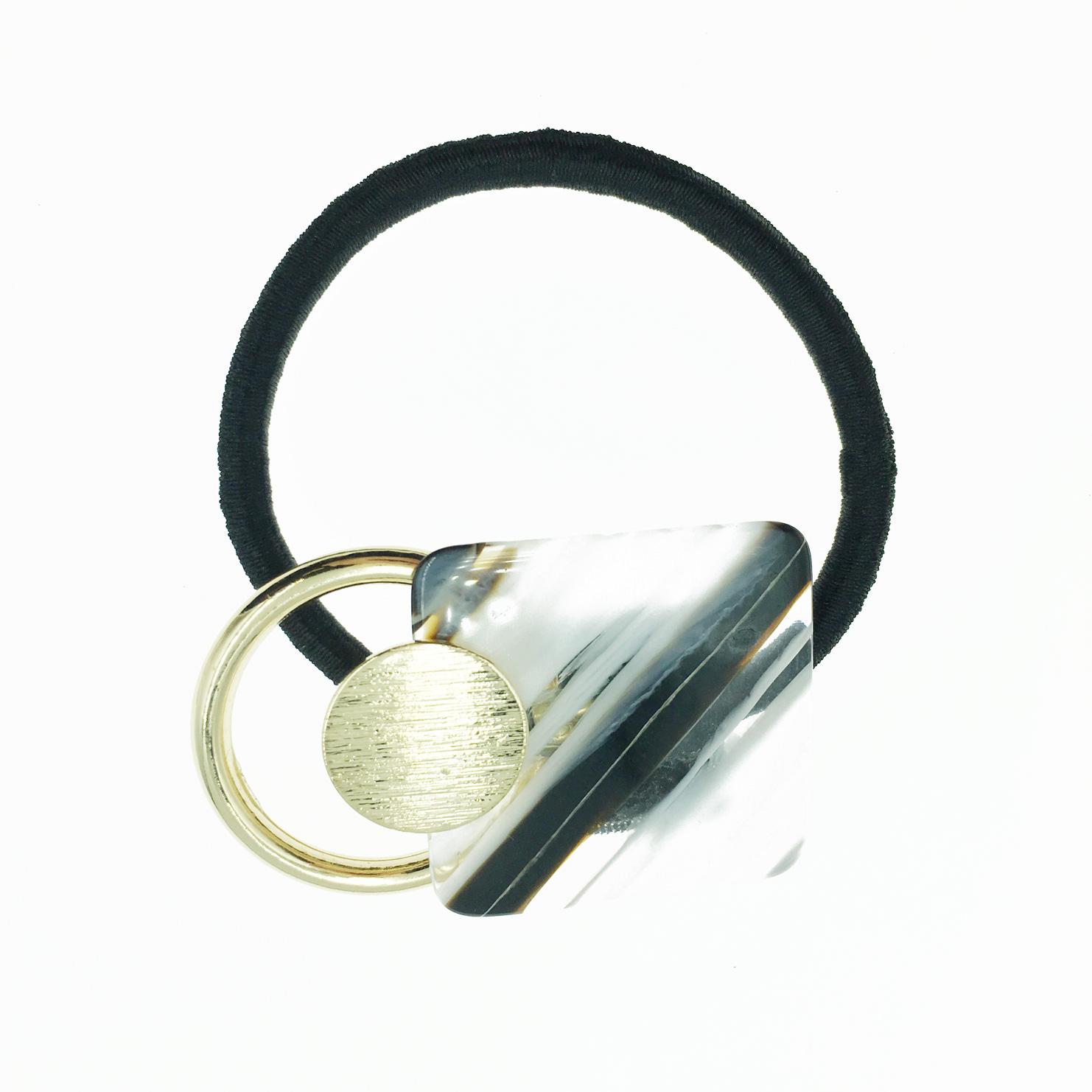 韓國 金色簍空圓 流行款 髮飾 髮束 髮圈