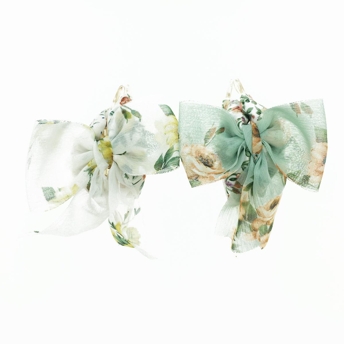 韓國 花花 蝴蝶結 髮飾 鯊魚夾