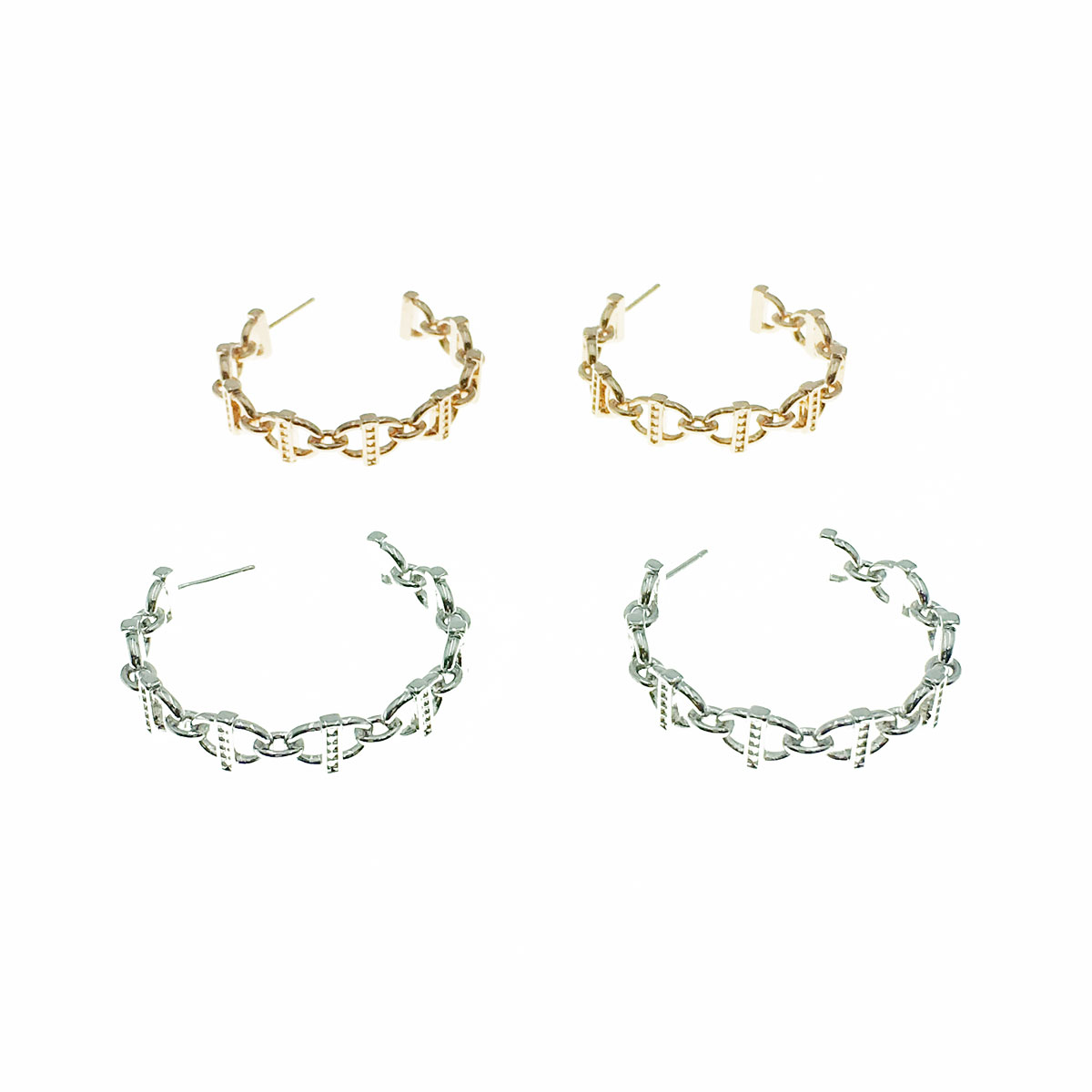 韓國 明星款 925純銀 水鑽 簡約 兩色 耳針式 耳環