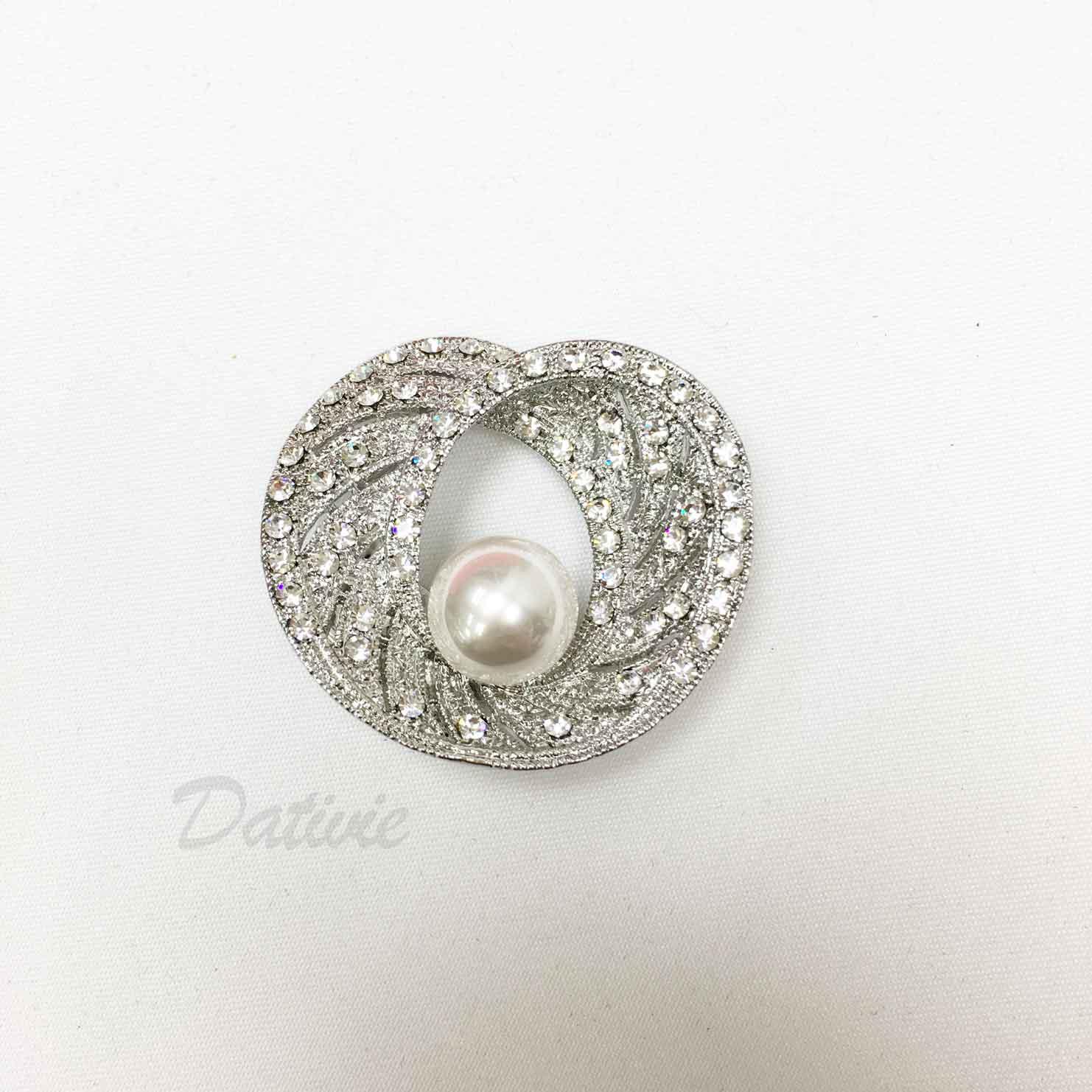 圖騰 紋路 花紋 水鑽 珍珠 絲巾夾 領巾夾