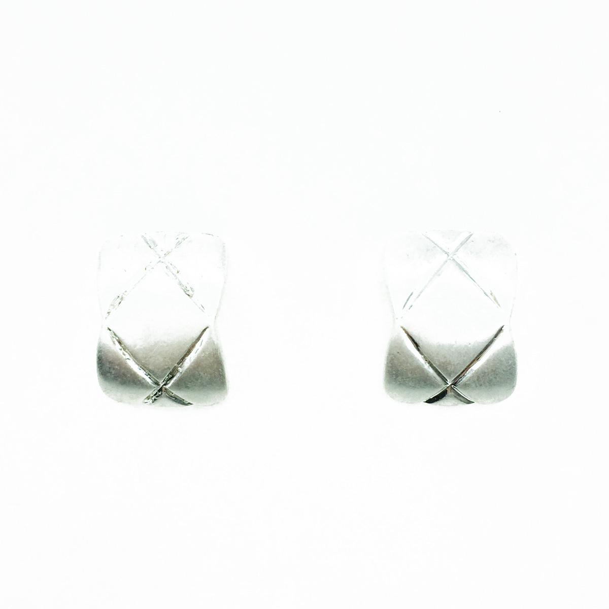 韓國 霧銀 歐美金屬簡約風 耳針式耳環