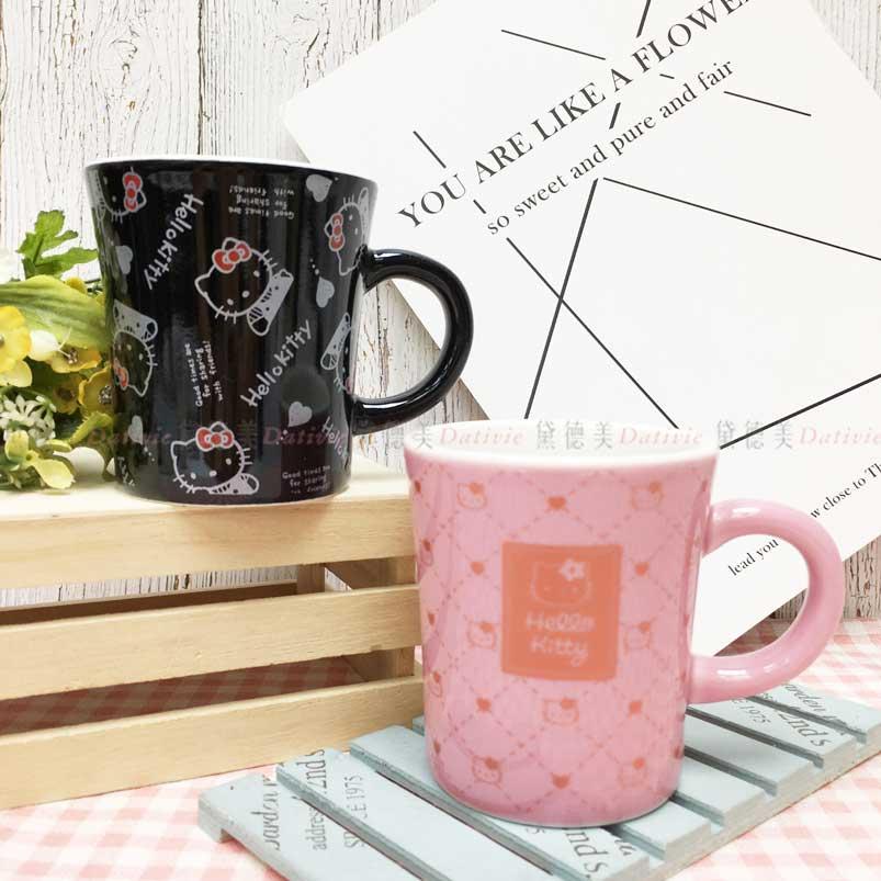 馬克杯 日本 三麗鷗 Hello Kitty 凱蒂貓 KT貓 2款 260ml 造型杯子 日本進口正版授權