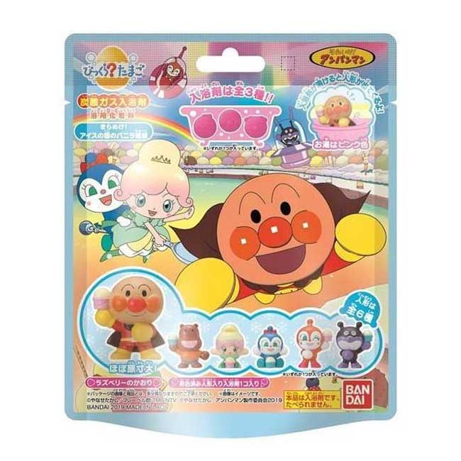 沐浴球 麵包超人 細菌人 紅精靈 造型公仔 入浴劑 日本進口正版授權