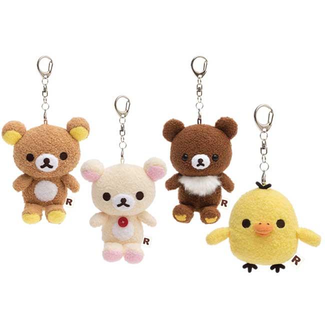 娃娃吊飾 SAN-X 拉拉熊 懶懶熊 小白熊 小雞 4款 絨毛娃娃 日本進口正版授權