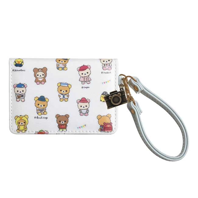 折疊票卡套 SAN-X 拉拉熊 懶懶熊 甜心熊 小白熊 茶小熊 小雞 票卡夾 日本進口正版授權
