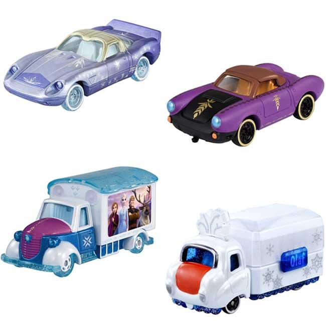 TOMICA玩具車 迪士尼 冰雪奇緣 艾莎 Elsa 安娜 Anna 雪寶 4款 幼童玩具車 日本進口正版授權