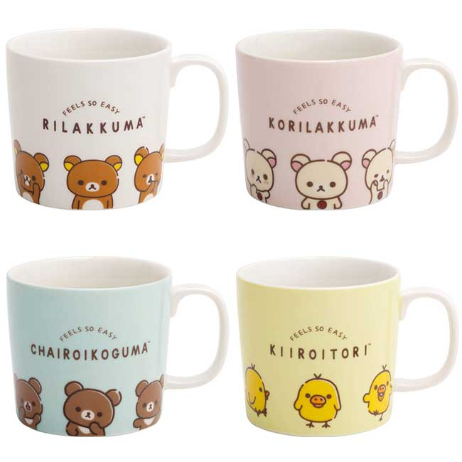 馬克杯 SAN-X 拉拉熊 懶懶熊 小雞 茶小熊 小白熊 甜心熊 4款 300ml 杯子 日本進口正版授權