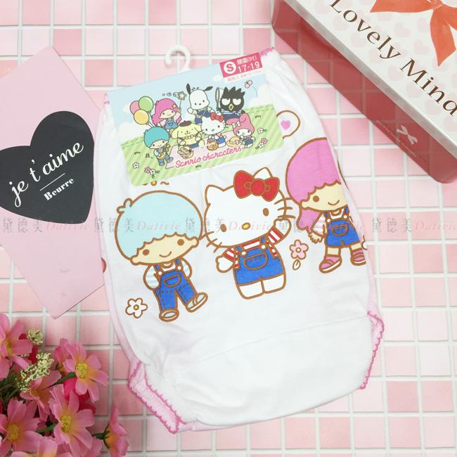 三麗鷗 kitty 2入兒童內褲 純棉 s~xl 正版授權