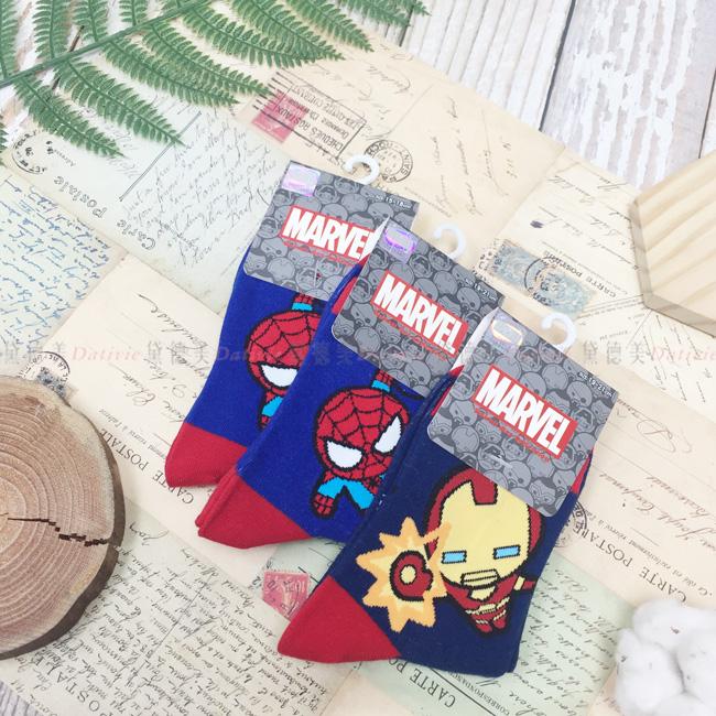 襪子 漫威系列 英雄系列 三款 15~21CM 正版授權