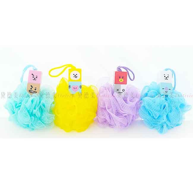 BT21 沐浴發泡球 沐浴球 四款 韓國製