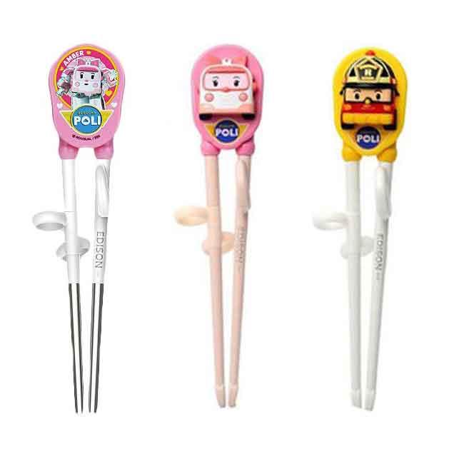 POLI 兒童筷子 輔助筷  學習筷子 三款 韓國製