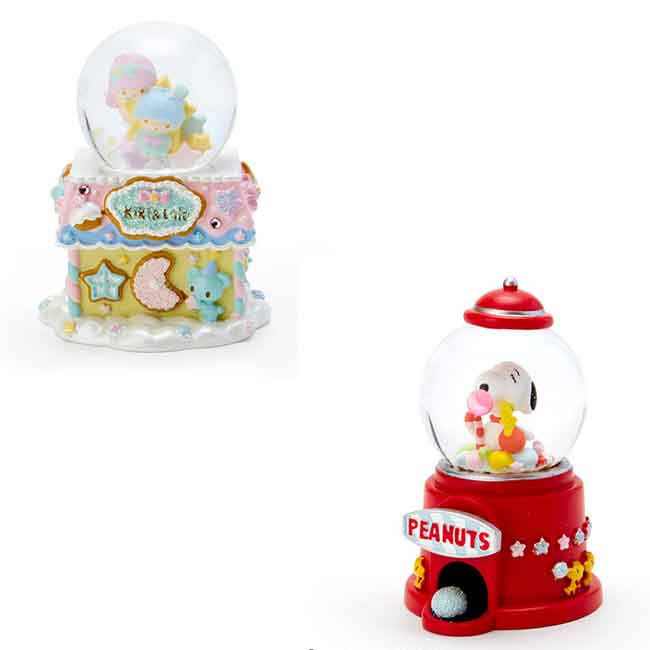 三麗鷗 Snoopy 聖誕節水晶球 兩款 日本進口