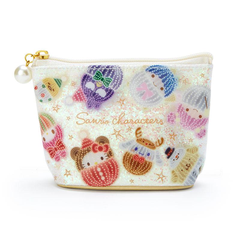 三麗鷗 閃亮化妝包 收納包 日本進口
