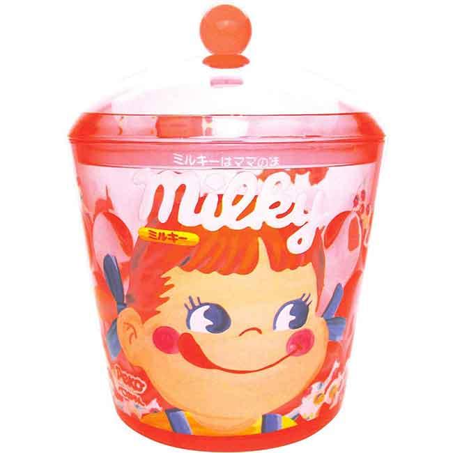 牛奶妹 圓收納罐 日本進口