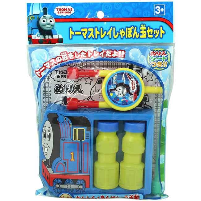 湯瑪士小火車 吹泡泡玩具組 兒童玩具 日本進口