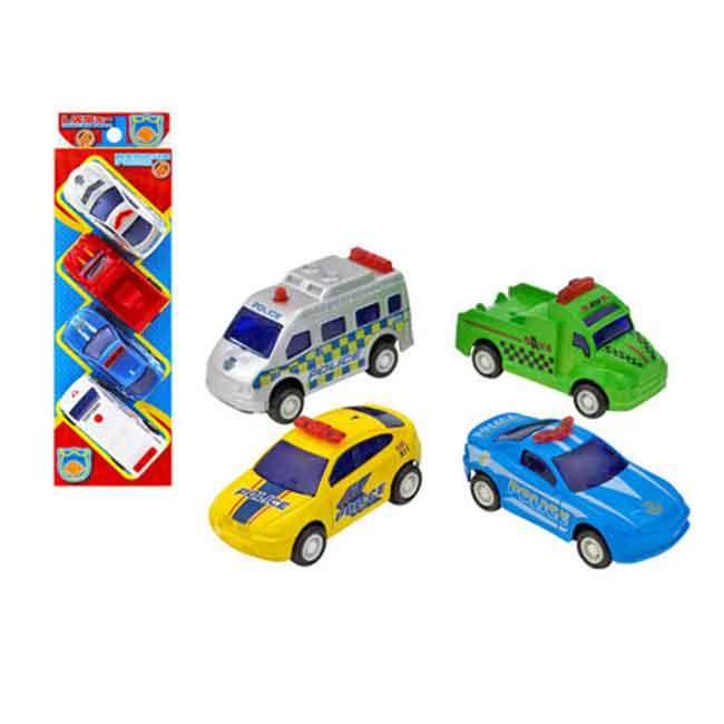 玩具 4入 小車組 玩具車 日本進口