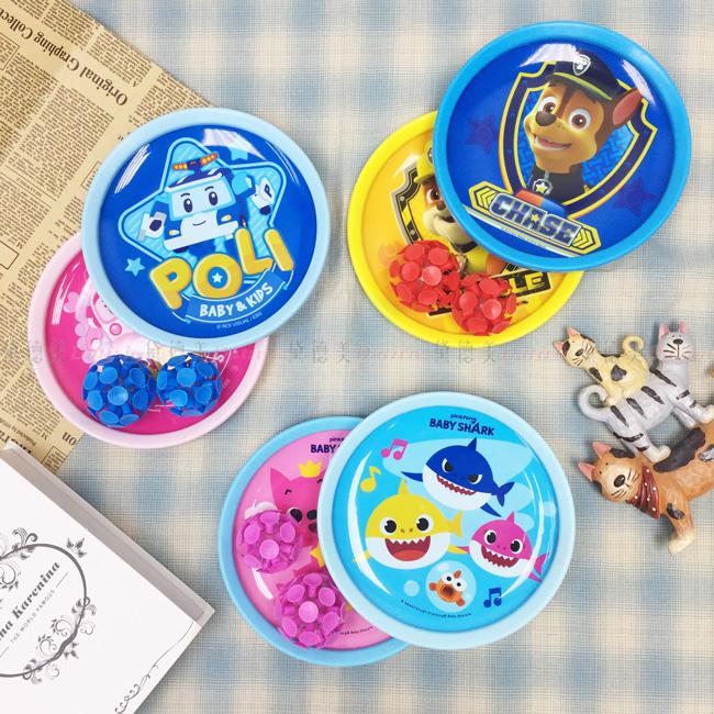 汪汪對立大功 POLI BabyShark 好動感吸盤球 玩具 三款 正版授權
