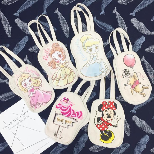 迪士尼 造型提袋 收納袋 五款 正版授權