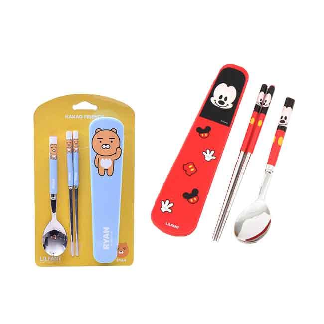 米奇 萊恩 筷匙組附盒 兩款 韓國製