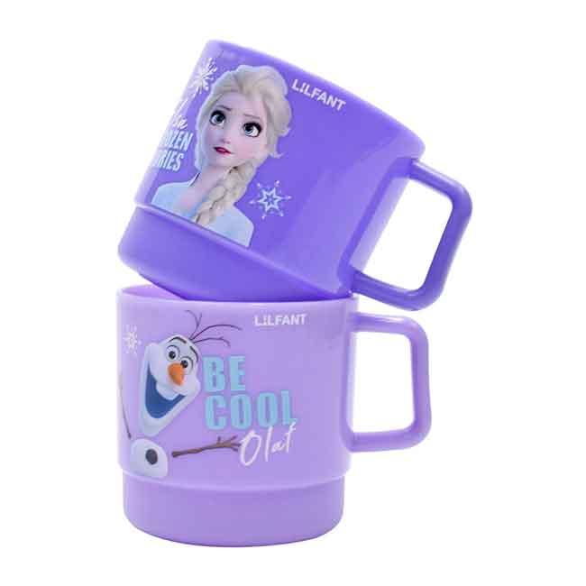迪士尼 冰雪奇緣 250ml杯2入組 韓國製