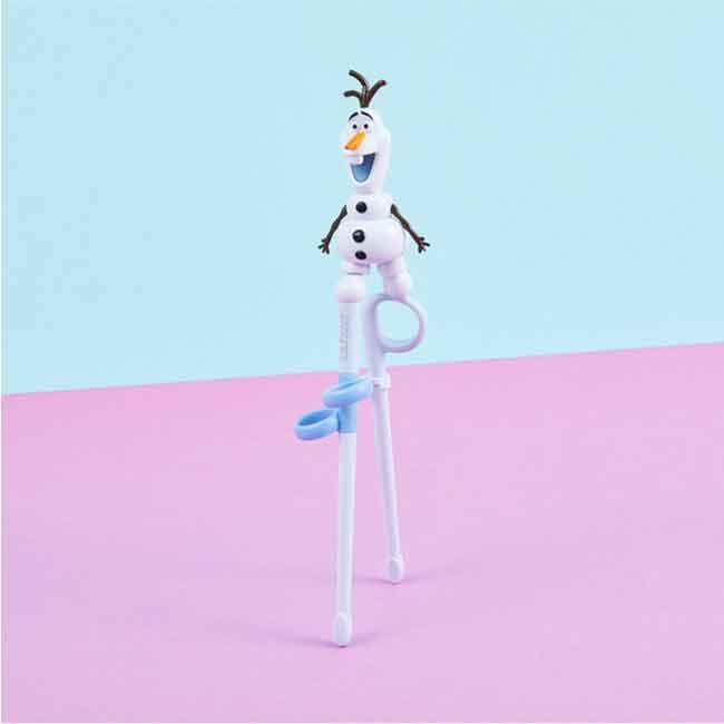 迪士尼 冰雪奇緣 雪寶造型學習筷 韓國製