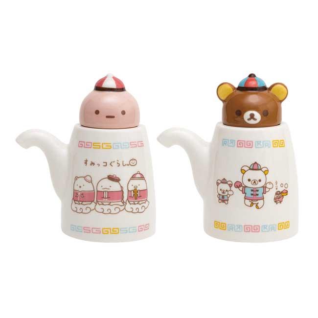 造型調味壺 SAN-X 角落生物 懶懶熊 拉拉熊 2款 調味瓶 日本進口正版授權