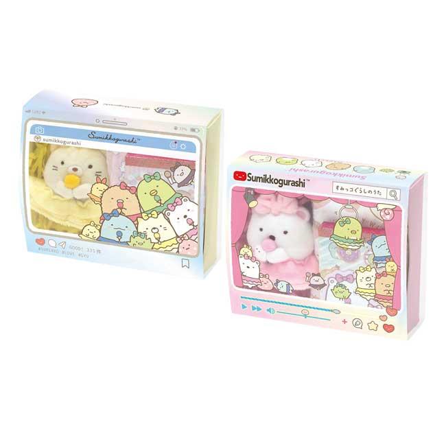 禮盒組 SAN-X 角落生物 角落小夥伴 2款 便條紙 娃娃 小方巾 組合禮 日本進口正版授權