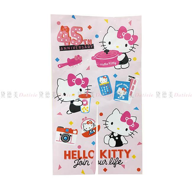 門簾 三麗鷗 Hello Kitty 凱蒂貓 KT貓 45th紀念版 造型門簾 正版授權