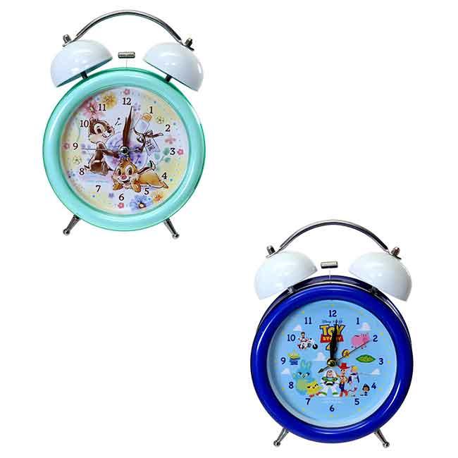 迪士尼 奇奇蒂蒂 玩具總動員4 鬧鐘 兩款 日本進口