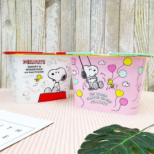 Snoopy 收納提籃 收納 兩款 正版授權