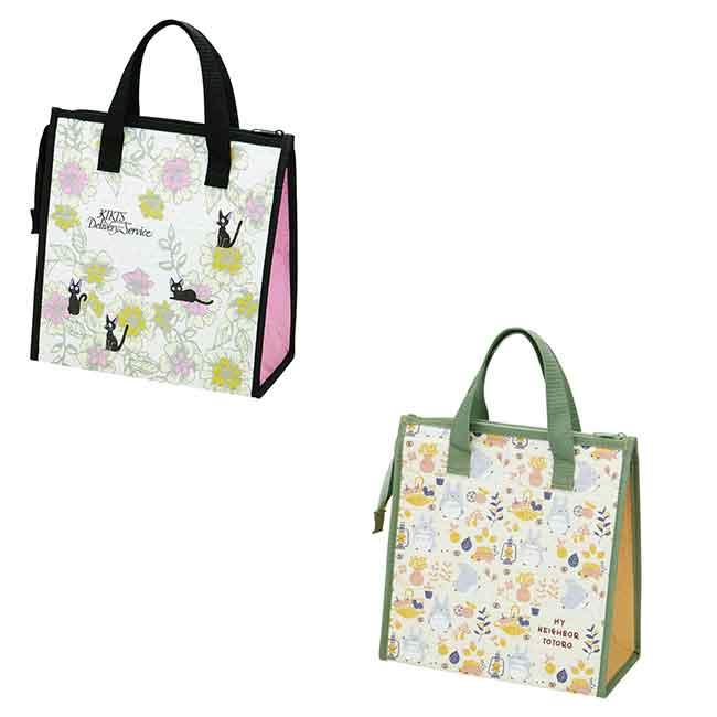 宮崎駿 龍貓 黑貓吉吉 保溫冷提袋 收納 提袋 兩款 日本進口