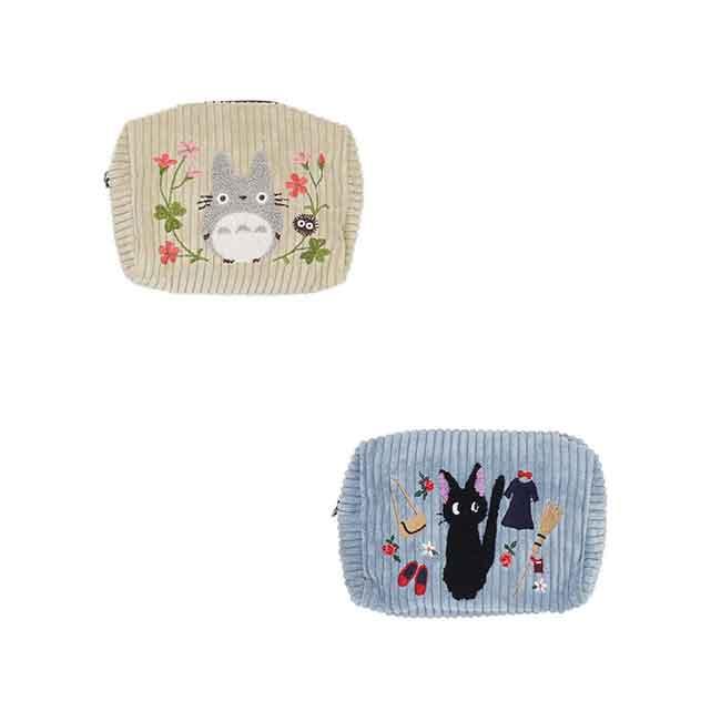 宮崎駿 燈心絨收納包 兩款 日本進口