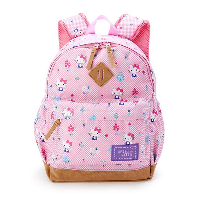 後背包 三麗鷗 KT貓 凱蒂貓 Hello Kitty 粉 書包 雙肩後背包 日本進口正版授權