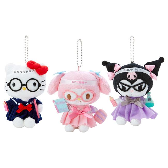 應援系列娃娃吊飾 三麗鷗 Hello Kitty 美樂蒂 酷洛米 百變娃娃 日本進口正版授權