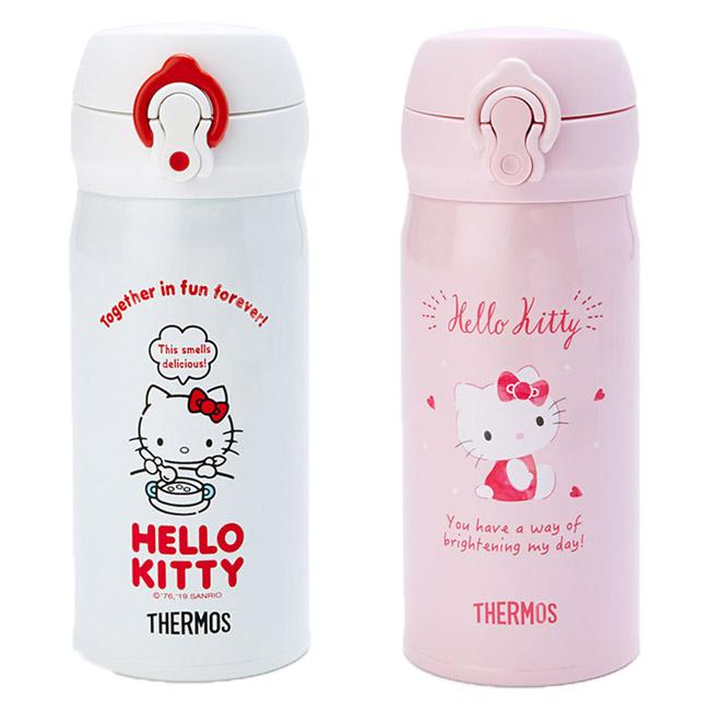 350ml保溫瓶 日本 三麗鷗 KT貓 凱蒂貓 THERMOS 保溫水瓶 日本進口正版授權