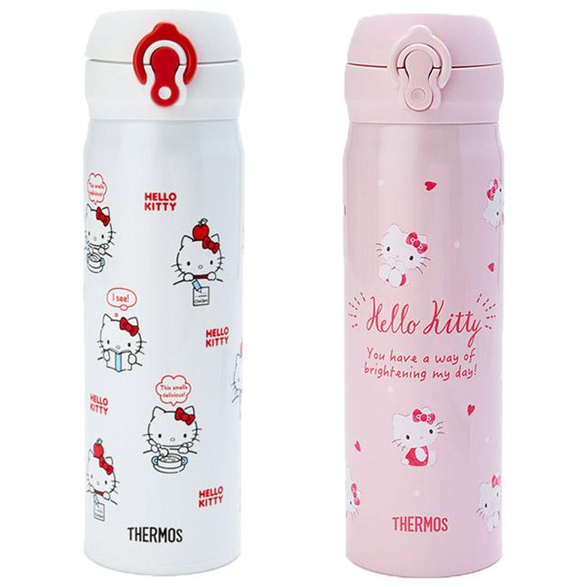 500ml保溫瓶 三麗鷗 Hello Kitty KT貓 凱蒂貓 膳魔師 保溫冷水瓶 日本進口正版授權