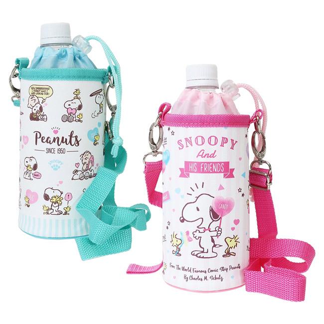 保溫冷水壺套 SNOOPY 史努比 水瓶袋 日本進口正版授權