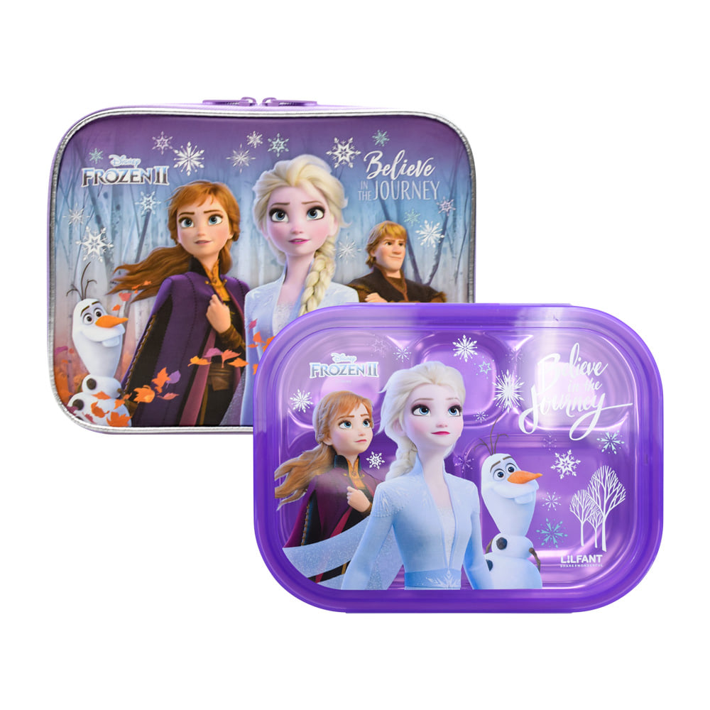 便當盒 迪士尼 冰雪奇緣2 餐盒 提袋 韓國進口正版授權