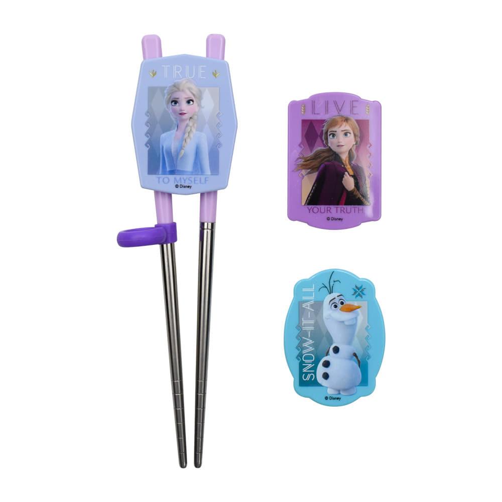 學習筷 迪士尼 冰雪奇緣2 兒童 學童 三種造型可換 韓國進口正版授權