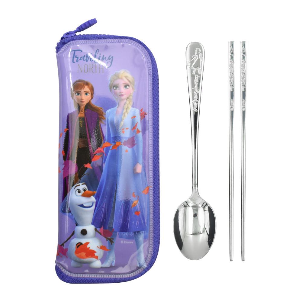 餐具 迪士尼 冰雪奇緣2 湯匙 筷子 袋子 環保 韓國進口正版授權